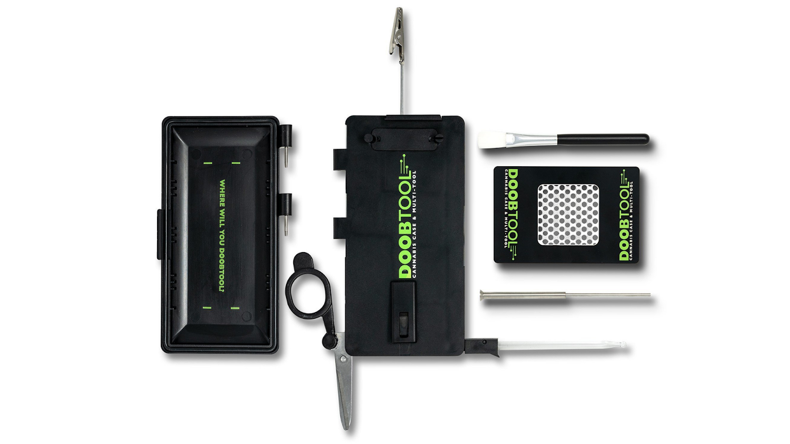 Cannabis multi-tool kit and case