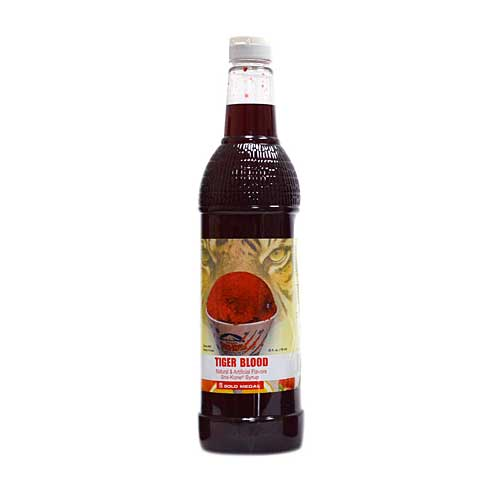 Tiger Blood Sno Cone Syrup 25oz.