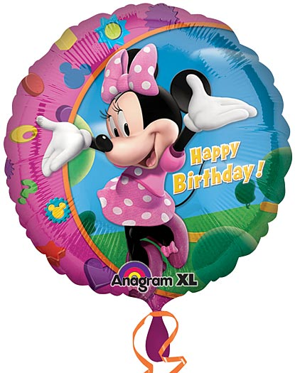 Minnie Mouse Birthday 18in.
