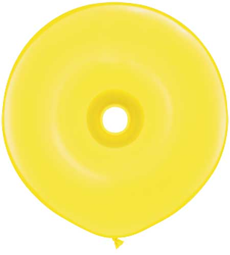 Geo Donut Yellow 16""