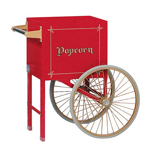 Popcorn Cart For 8oz. Popper