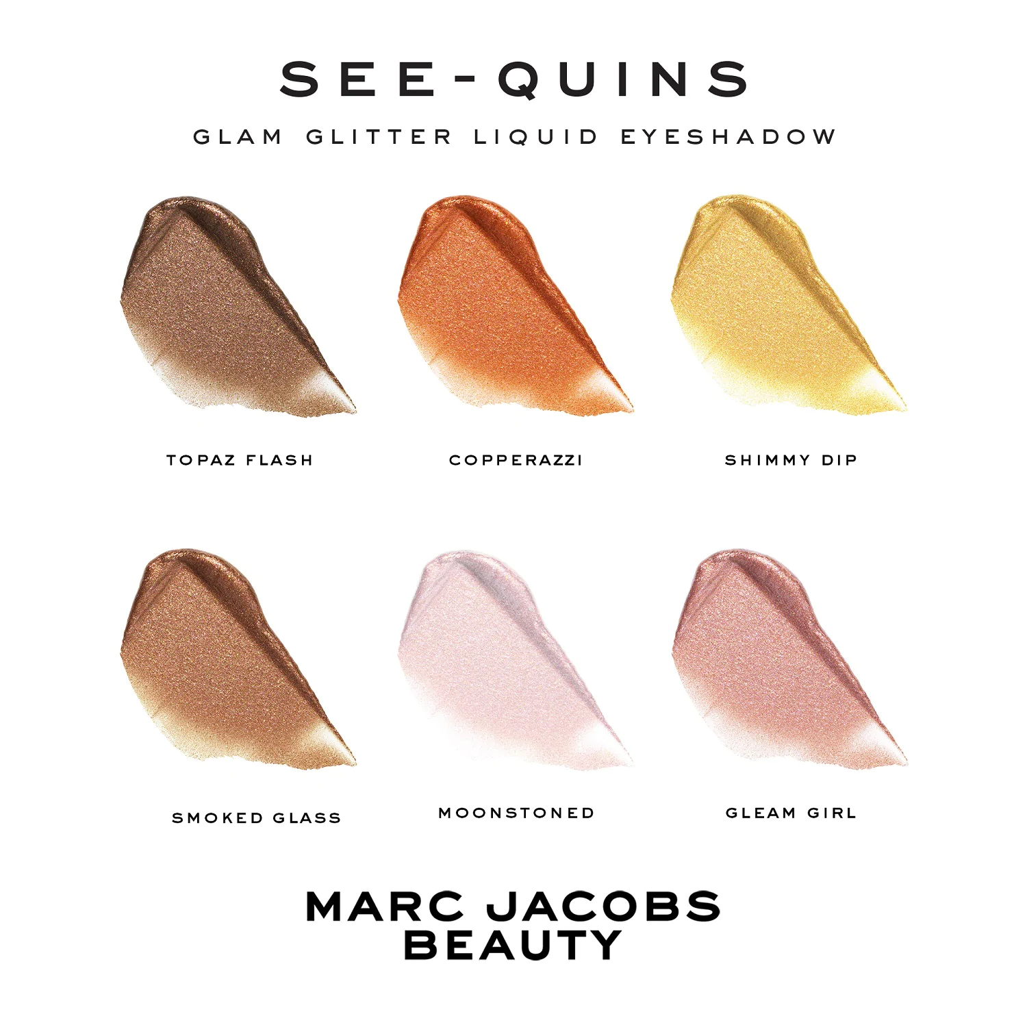 MARC JACOBS BEAUTY - SEE-QUINS, GLAM GLITTER LIQUID EYE SHADOW