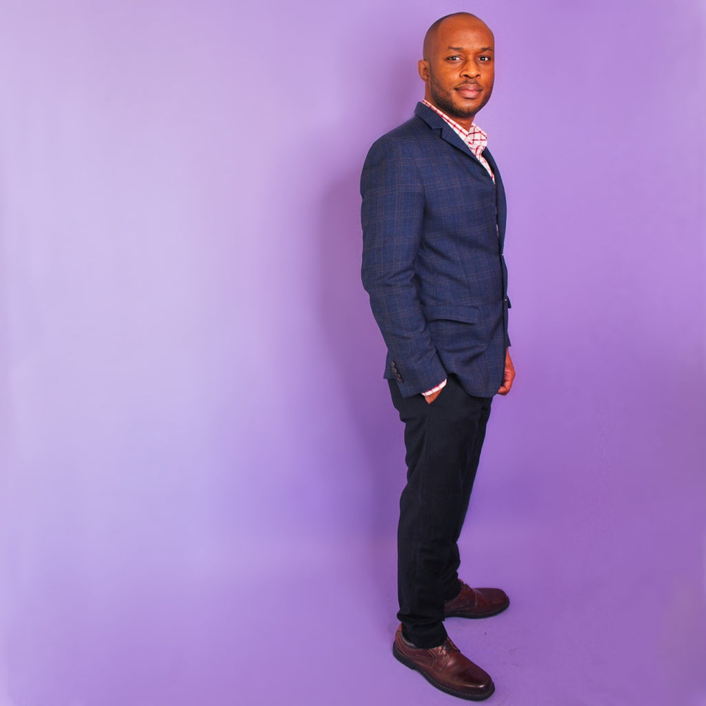 Dr. Johnson Ofomata, co-founder of Sweeter Juice Beauty