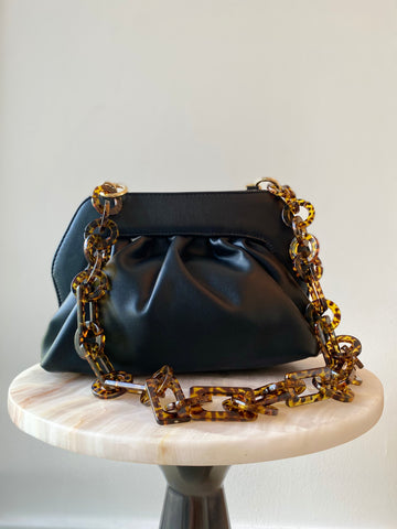 Black Chain Pouch