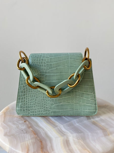 Teal Chain Mini