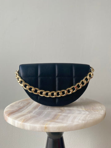 Luna Clutch in Black