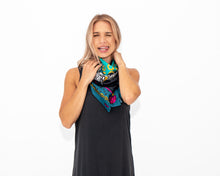 Load image into Gallery viewer, The Kat Silk Scarf: Limited Edition