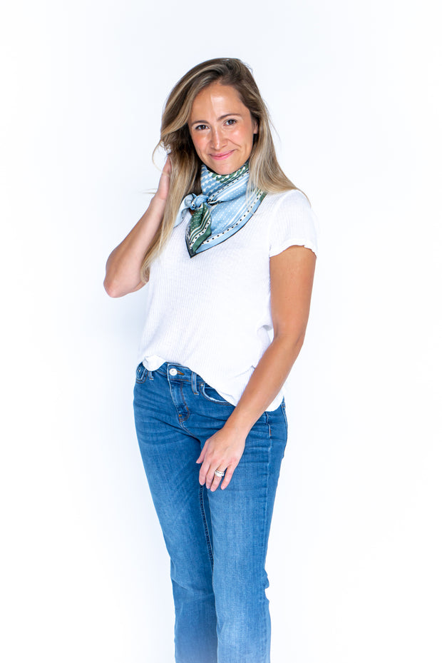 The Meredith Silk Scarf: Limited Edition 1