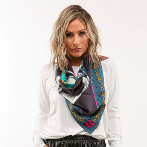 The Kat Silk Scarf: Limited Edition