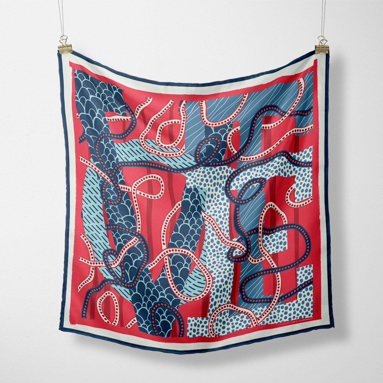 The Ellis Silk Scarf: Limited Edition