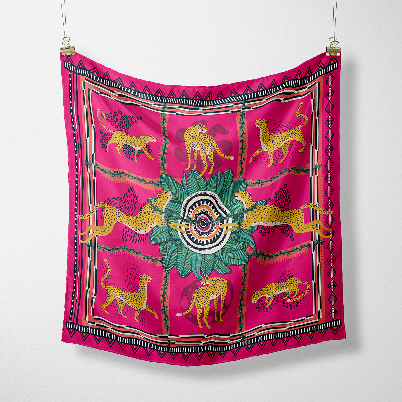 The Kiki Silk Scarf