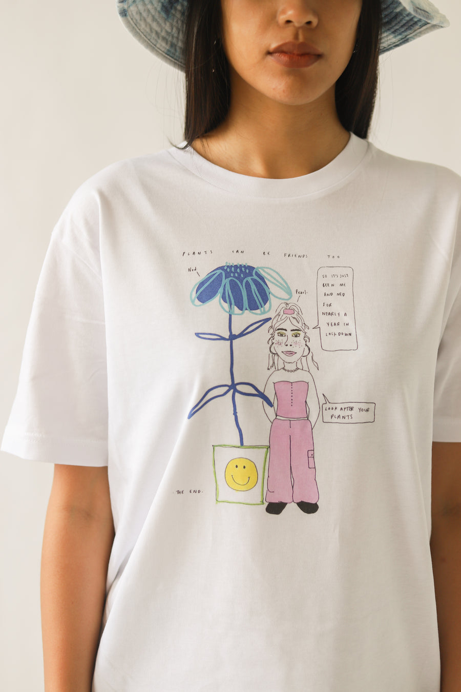 Pearl and Ned - Organic Cotton T-Shirt