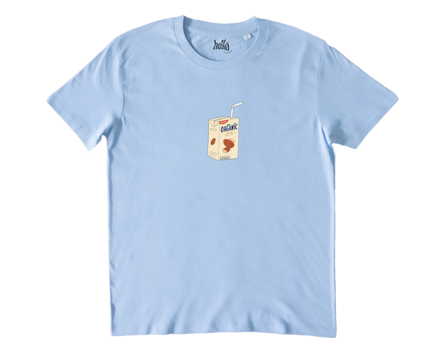 Almond Milk Addict - Organic Cotton T-Shirt
