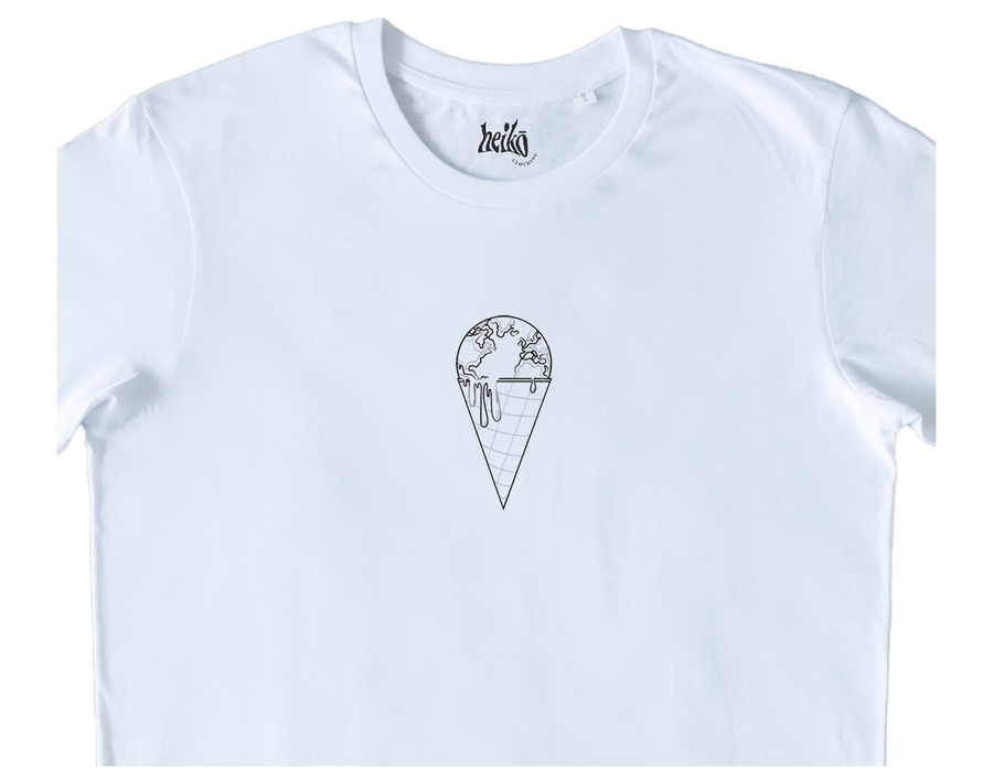 The Earth is Melting - Organic Cotton T-Shirt