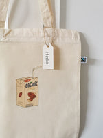 Load image into Gallery viewer, Almond Milk Addict Tote Bag