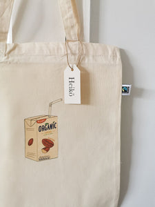 Almond Milk Addict Tote Bag