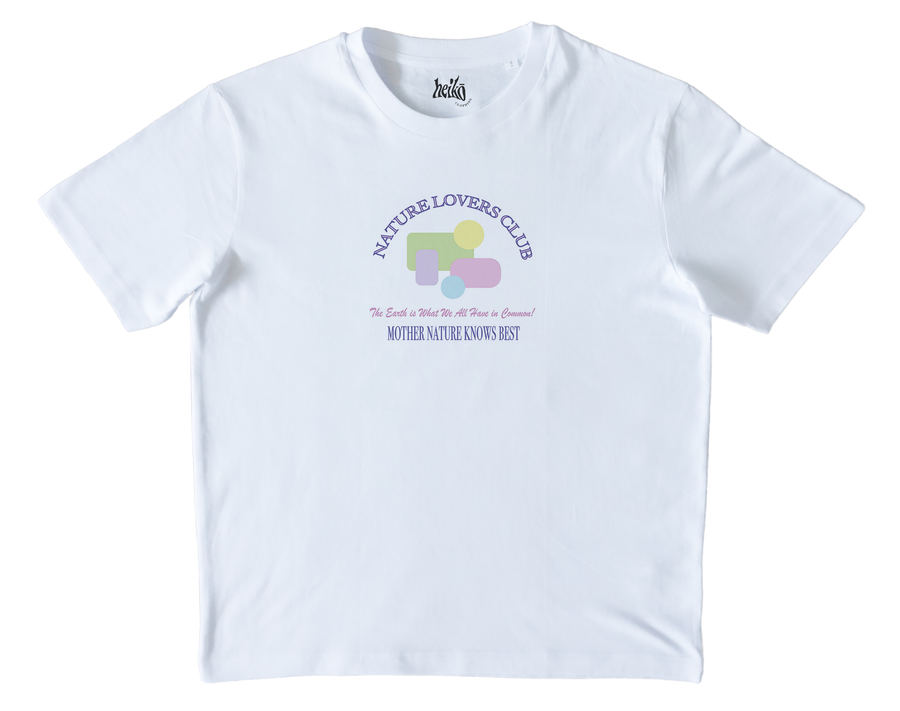 Nature Lovers Club - Organic Cotton T-Shirt