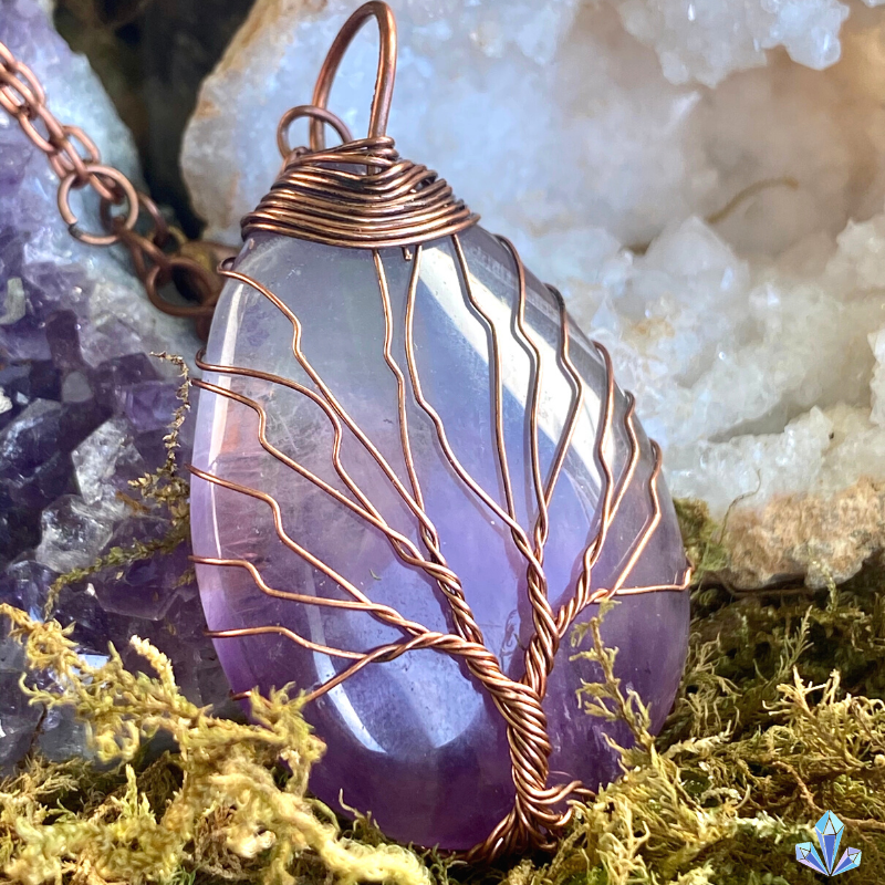Natural Amethyst - Tree of Life Collection