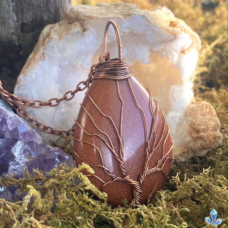 Natural Red Jasper - Tree of Life Collection