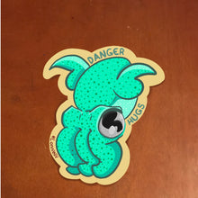 "Load image into Gallery viewer, ""Danger Hugs!"" Sticker"