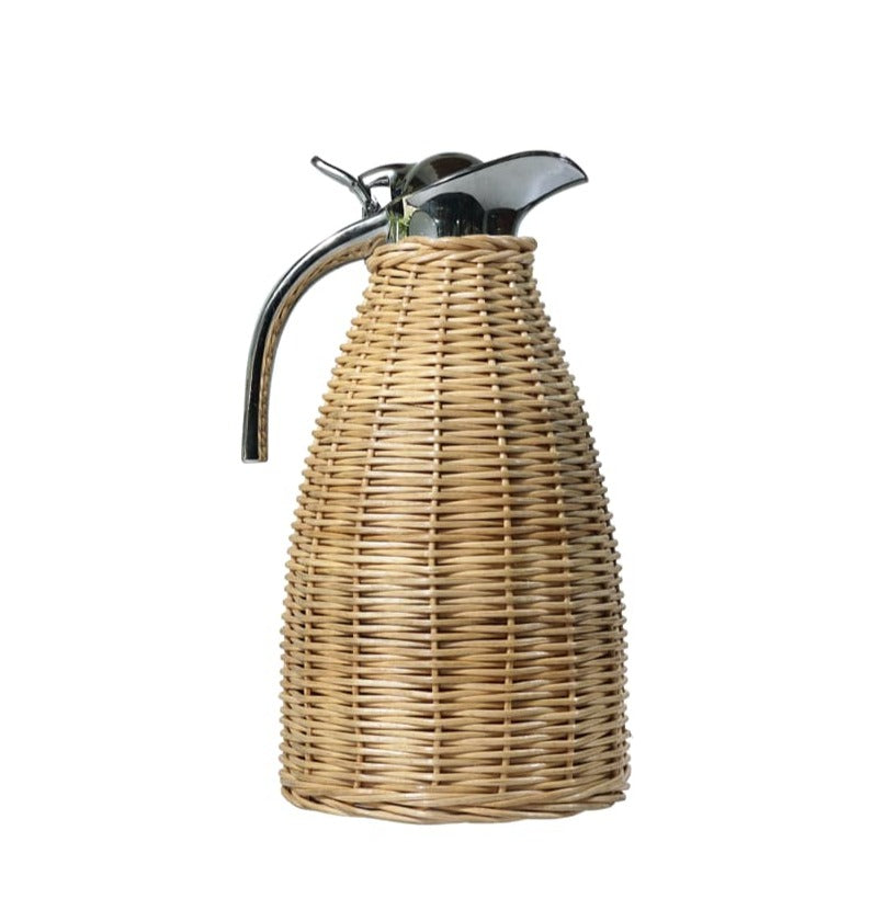 Cane/Thermo Steel Jug