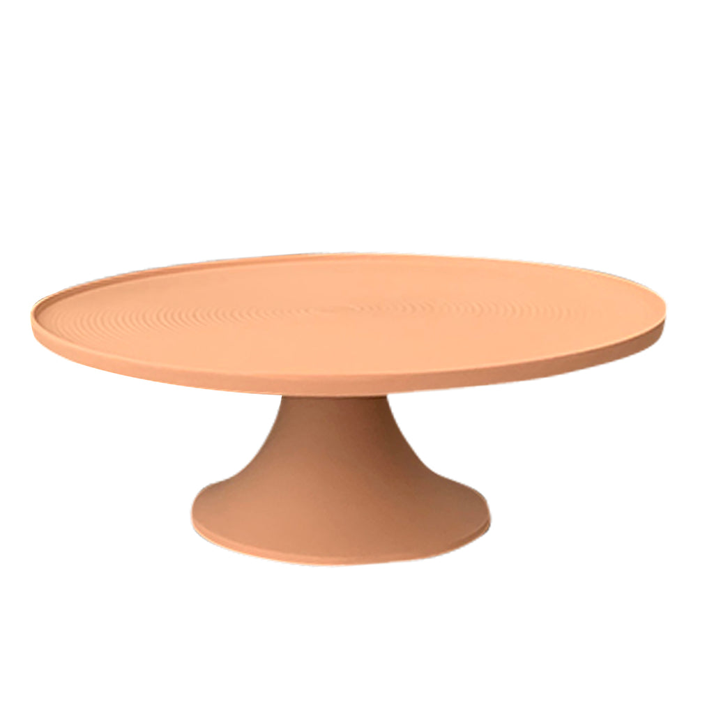 Faith Cake Stand - Salmon