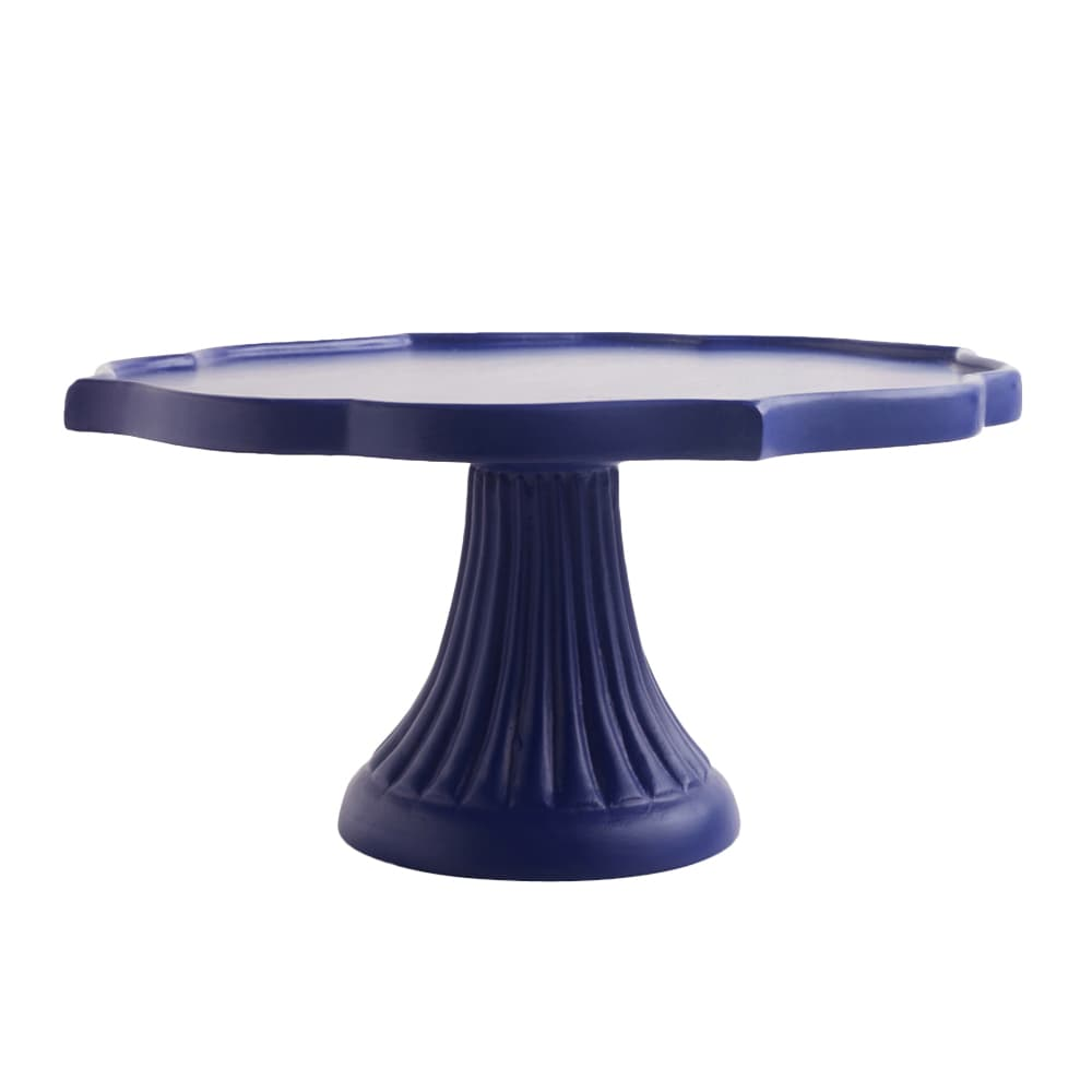 Mehrab Wooden Cake Stand – Azure