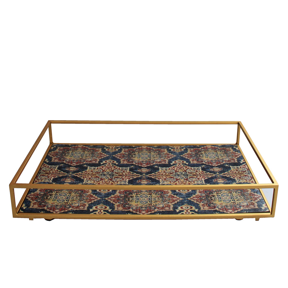 Blue Harbour Collection Metal Serving Tray