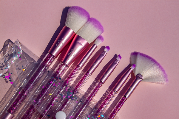 Pink Jewel Brush Set