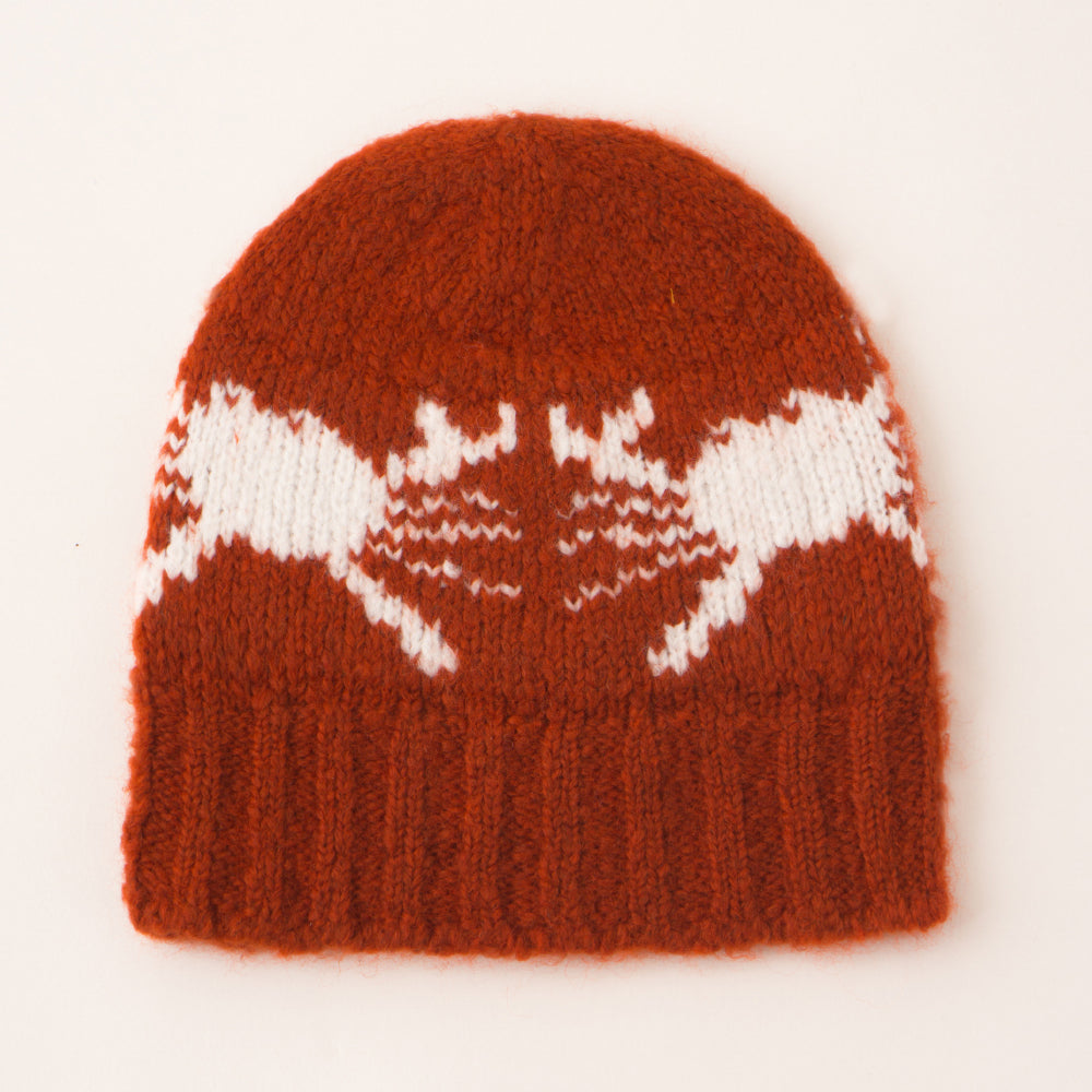 Bobo Choses Knitted Baby Beanie - Crabs
