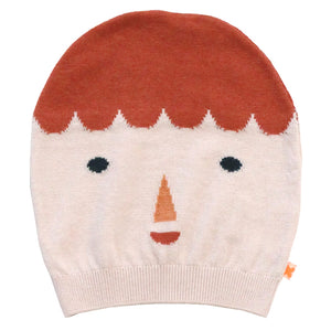 Tiny Cottons Big Face Beanie - Pink