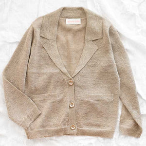 Simple Kids Gold Lady Sweater