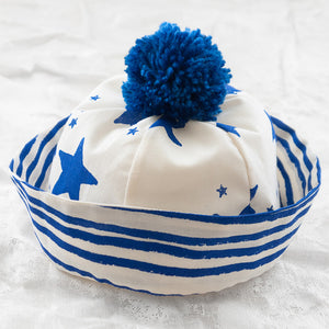 Noé & Zoë Sailor Hat - Blue