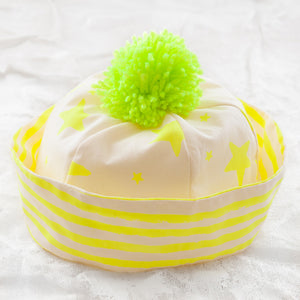 Noé & Zoë Sailor Hat - Neon Yellow