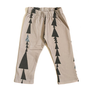 Perfect Days Organic Baby Pants - Triangles