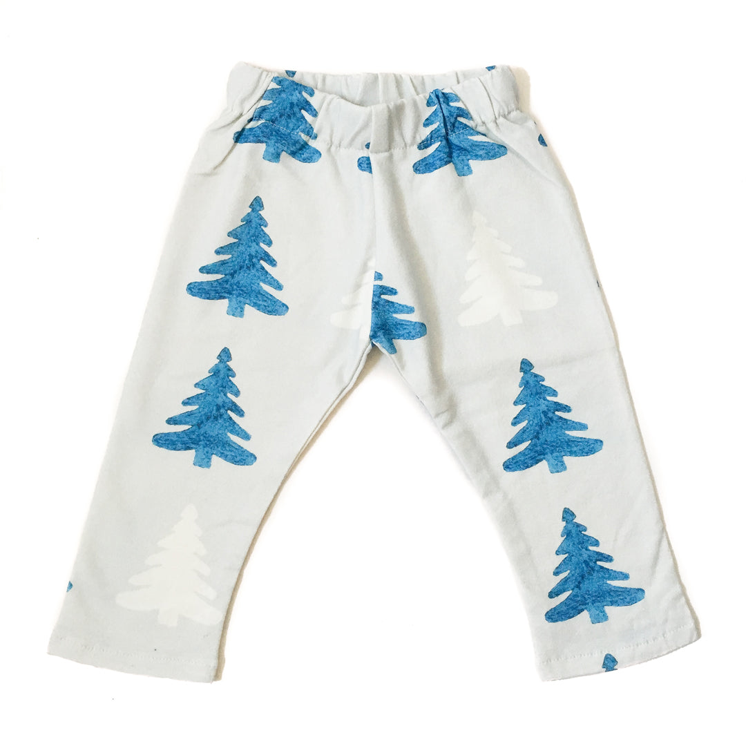 Perfect Days Organic Baby Pants - Forest