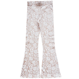 Petitbo Organic Bell Bottoms - Lace