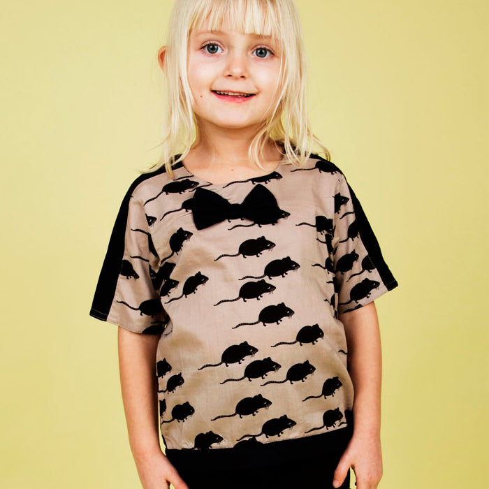 Mini Rodini Organic Mouse Blouse