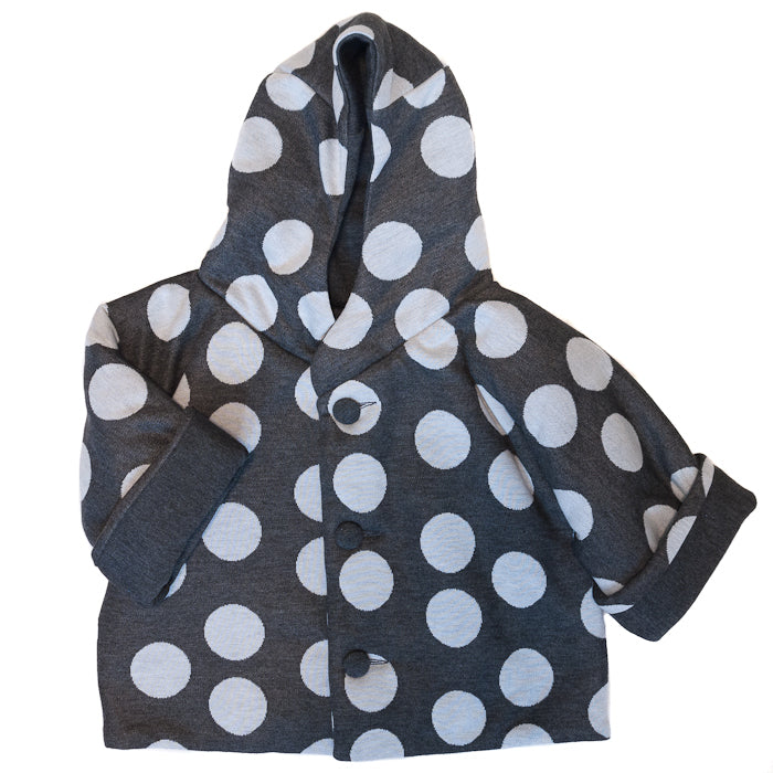 Lucien Zazou Dotted Baby Coat