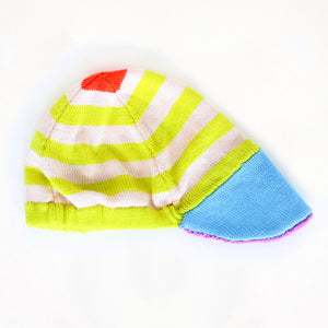 Baby Degen Yellow Stripe Cap