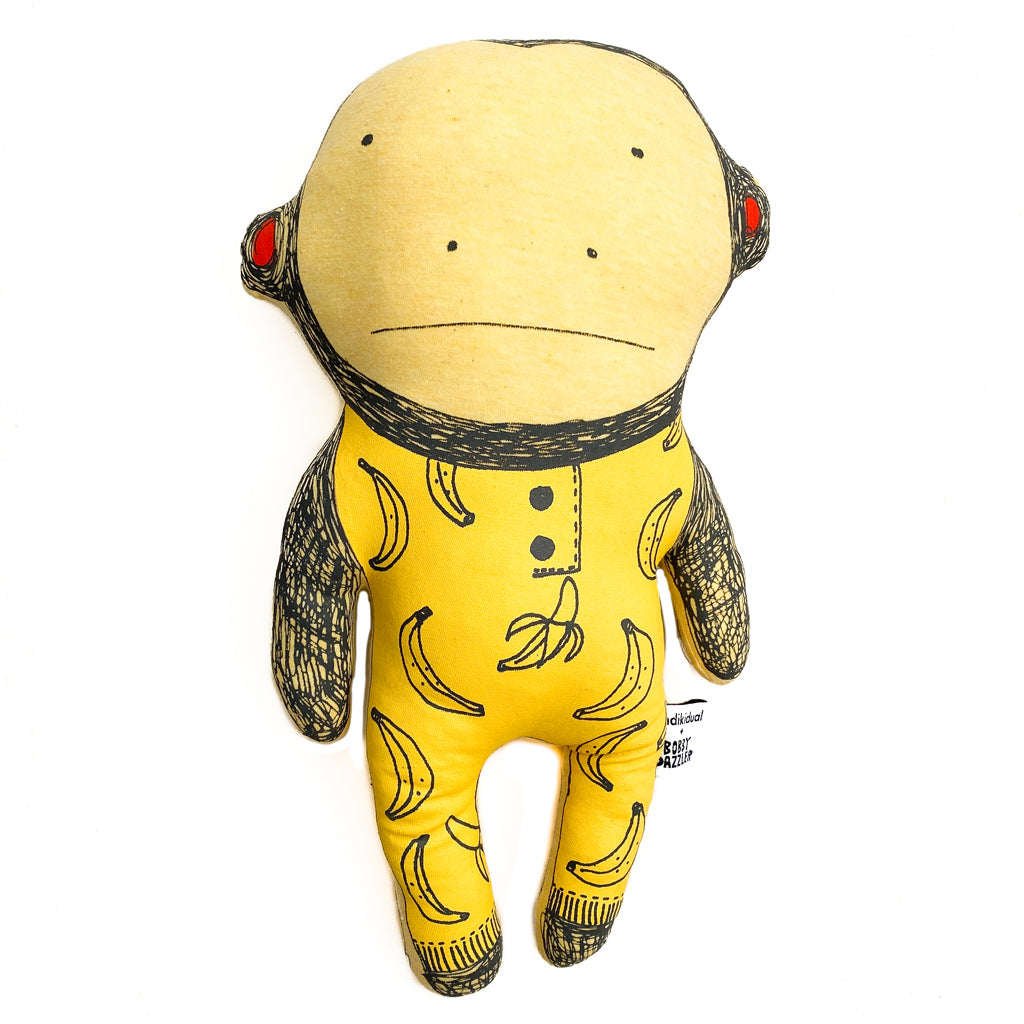 Indikidual x Bobby Dazzler Mike the Monkey Doll