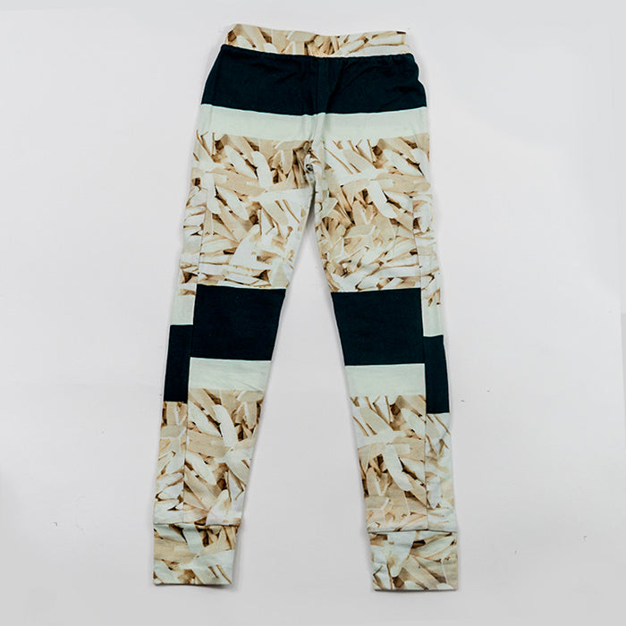 Agatha Cub Leggings - Flake Stripe