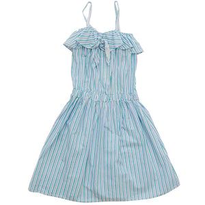 Nico Nico Luau Knot Dress - Shiso Stripe