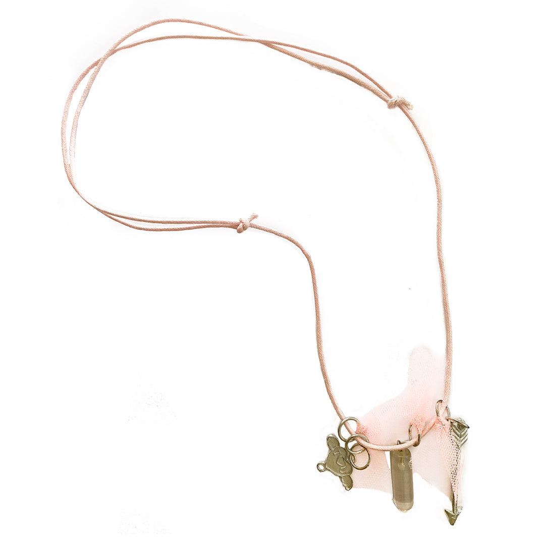 Tutu du Monde Charm Necklace - Pink
