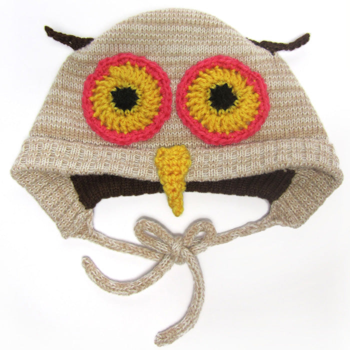 The Miniature Knit Shop Owl Hat