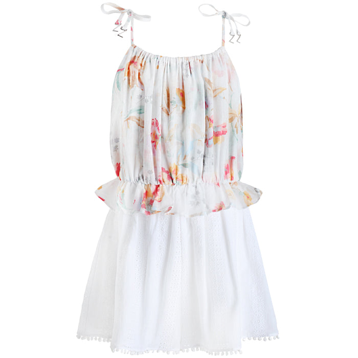 Zimmermann Belle Gathered Romper