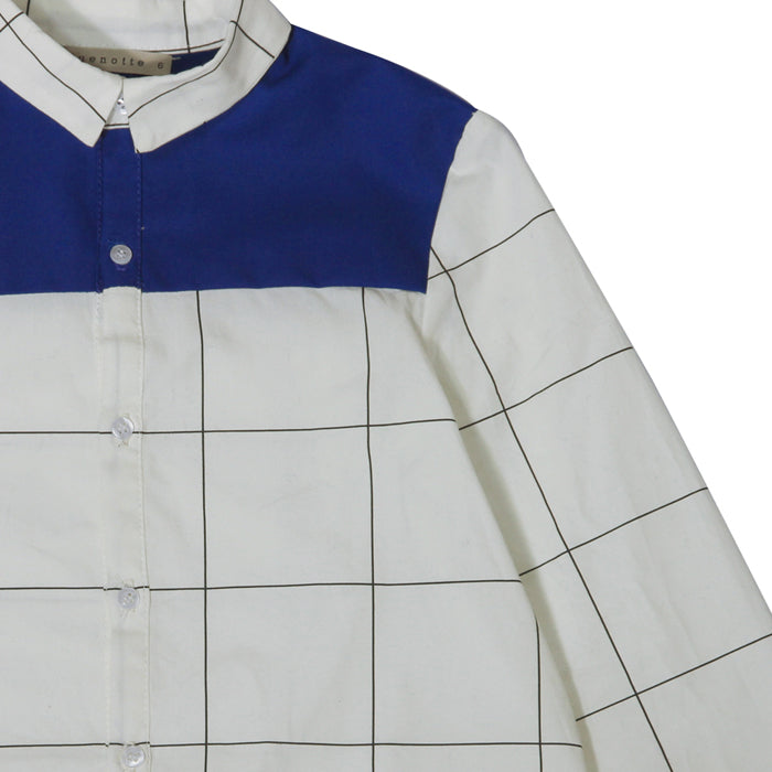 Quenotte Grid Shirt