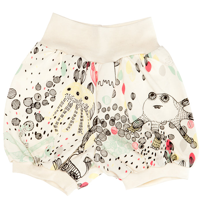 Aarrekid Organic Monsters Shorts