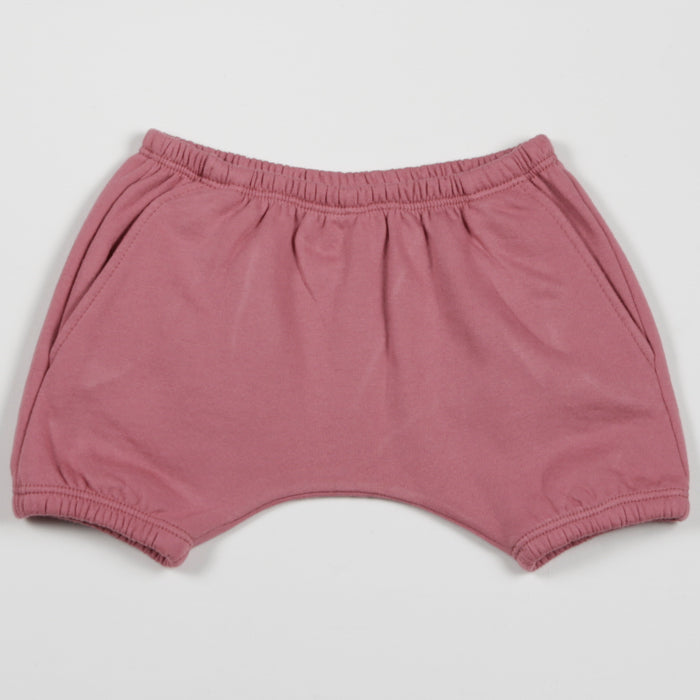 Seesaw Fleece Shorts - Rose