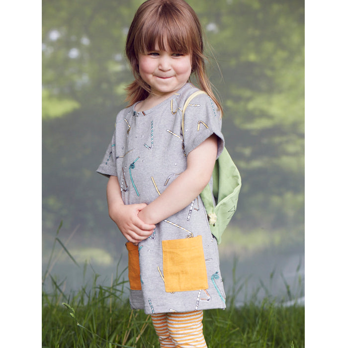 Indikidual Organic Fizzy Straw Tee Dress